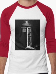 Doctor Who TARDIS Men's Baseball ¾ T-Shirt