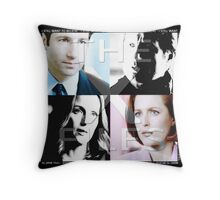 i still want to believe - the x-files Throw Pillow
