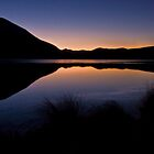 First Light - Lake Clearwater NZ by ChrisNZ