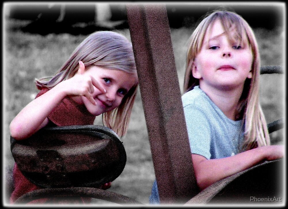 Farm Girls by PhoenixArt