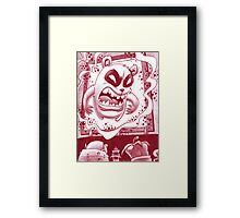 Panda has some issues Framed Print