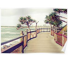 Caloundra Boardwalk Poster