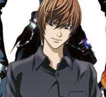 death note light ryuk anime manga shirt Sticker