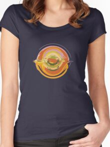 """Orb 44 """"Sun"""" Women's Fitted Scoop T-Shirt"""