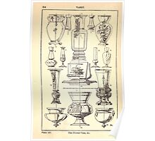A Handbook Of Ornament With Three Hundred Plates Franz Sales Meyer 1896 0330 Vases Flower Vase Poster