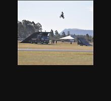 Hunter Valley Airshow 2015 Airshow - Motorcycle Ramp Jump Unisex T-Shirt