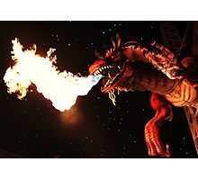 Dragonfire Photographic Print