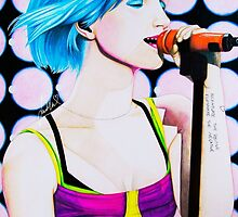 Hayley Williams Paramore Monument Tour by artforhayley