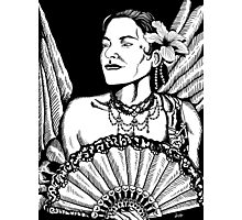 Spanish Lady Photographic Print