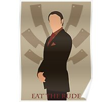 Eat The Rude Poster