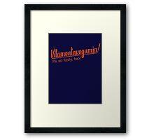 Vitameatavegamin! Framed Print