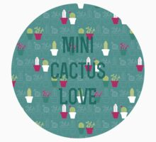 Mini Cactus Love T-Shirt