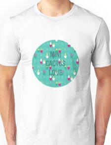 Mini Cactus Love Unisex T-Shirt