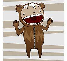 Bearsuit! Photographic Print