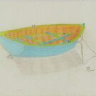 Boat of many colours by LadyE