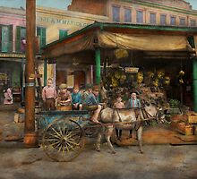 City - New Orleans LA - Frankie and the boys 1910 by Mike  Savad