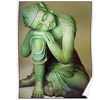 (ever)Green Buddha Poster