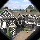 North & west ranges of Little Moreton Hall, Cheshire, England by Philip Mitchell