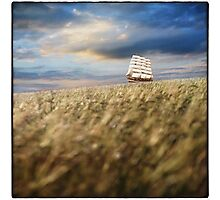 Sailing... Photographic Print