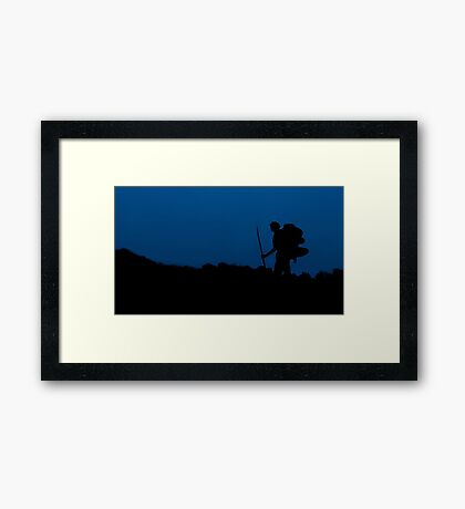 The Route Less Travelled Framed Print