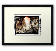 Last Picture Of The Little Boy Framed Print