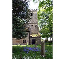 Kirk Bramwith Church in Spring Photographic Print