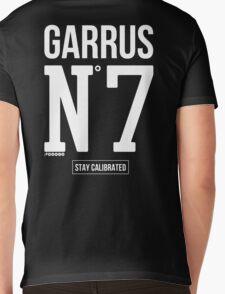 Stay Calibrated - White Mens V-Neck T-Shirt