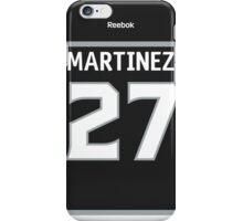Los Angeles Kings Alec Martinez Jersey Back Phone Case iPhone Case/Skin