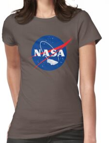 NASA Back 2 Future Womens Fitted T-Shirt