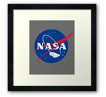 NASA Back 2 Future Framed Print