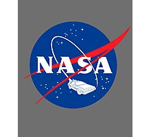 NASA Back 2 Future Photographic Print