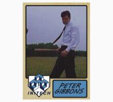 Peter Gibbons Baseball Card by Paul Simms