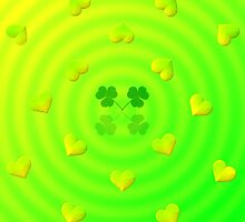 Lucky Hearts by Edmond  Hogge