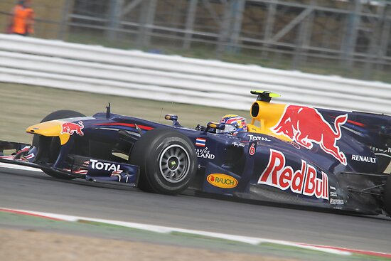 Mark Webber - Red Bull RB6 - Silverstone 2010 by MSport-Images