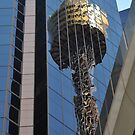 Centrepoint Tower Reflection, Sydney, Australia 2013 by muz2142