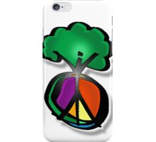 tree peace iPhone Case/Skin
