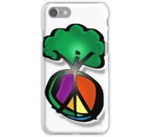 tree peace iPhone Case/Skin