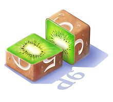 Diced Kiwi by Shaun Ellis