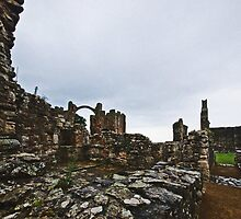 Holy Island Priory #2 by Nigel Bangert
