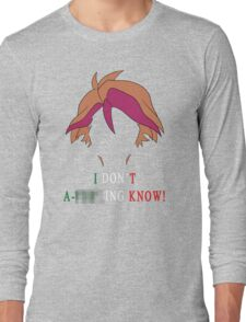 Michio Don't Know Long Sleeve T-Shirt