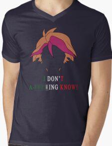 Michio Don't Know Mens V-Neck T-Shirt