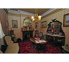 Victoriana, The Sitting Room Photographic Print