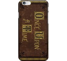 Henry's Book iPhone Case/Skin