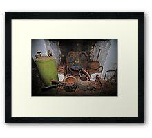 Caretakers Cottage, Monte Cristo Framed Print