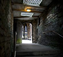 Passage to the Bishop's House, Lincoln by Hannah Edwards
