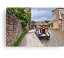 Skipton Canal Canvas Print