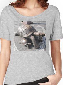 Tortoise Sculptures, Bordeaux, France 2012 Women's Relaxed Fit T-Shirt