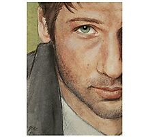 Fox Mulder Photographic Print