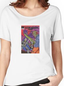 Raven Heights Radio Comic Design Women's Relaxed Fit T-Shirt