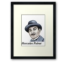 Hercules Poirot : Pointing the finger of blame 659 views Framed Print